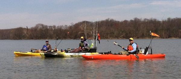 Kayak fishing the Susquehanna Flats
