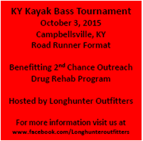 KY Kayak Bass Tournament