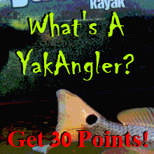 YakAngler Kayak Fishing User Survey