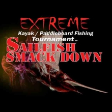 Extreme Kayak Fishing Tournament Sailfish Smackdown