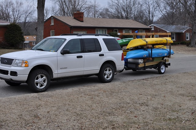 My Kayak trailer