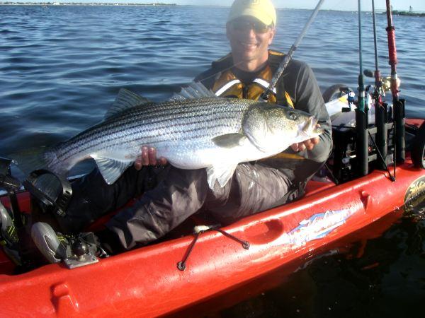 2012 jamaica bay recap for Kayak fishing tournaments