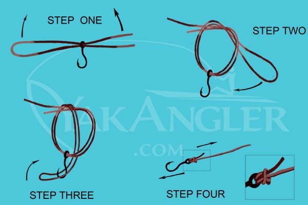 Best fishing knots for kayak anglers for Best fishing hook knot