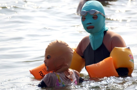 china facekini custom