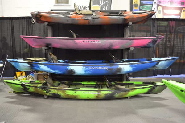 native watercraft new colors