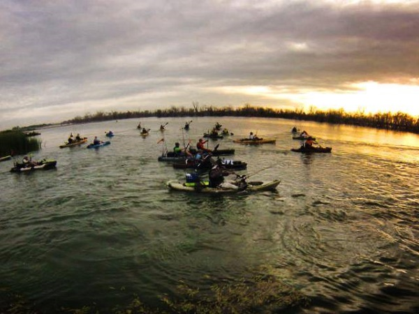 2014 midwest kayak fishing tournament recap for Kayak bass fishing tournaments