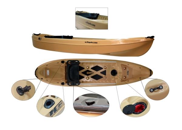 Kc kayaks for Most stable fishing kayak