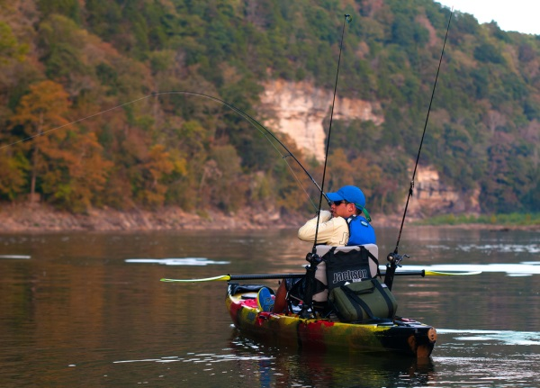 Kayak Fishing Lake Guntersville Alabama