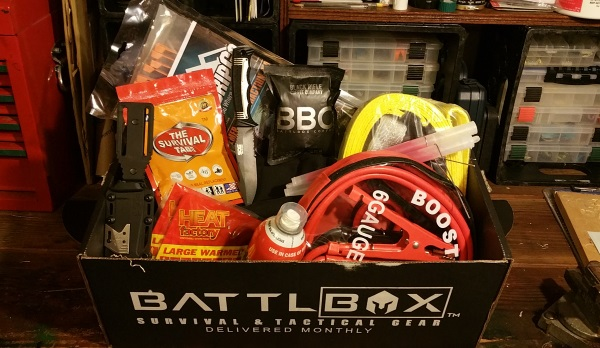 BattlBox Mission 10 Unboxing Contents