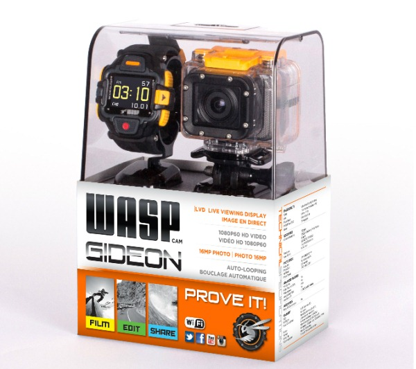 WASPcam Gideon Action Camera