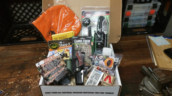BattlBox Mission 11 Unboxing Contents