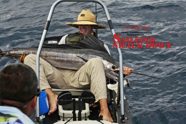 Marcos Baldo Extreme Sailfish Smack Down kayak fishing tournament