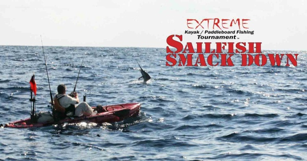 Ryan Jones Extreme Sailfish Smack Down kayak fishing tournament