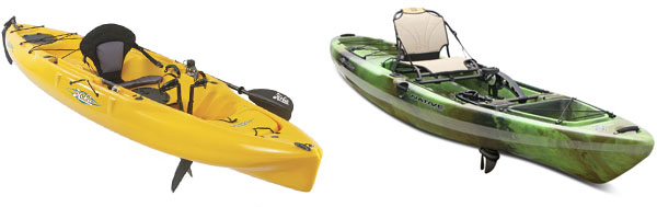native watercraft slayer propel and hobie outback