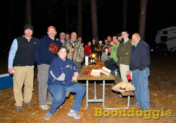 Kayak Fishing Boondoggle great community event