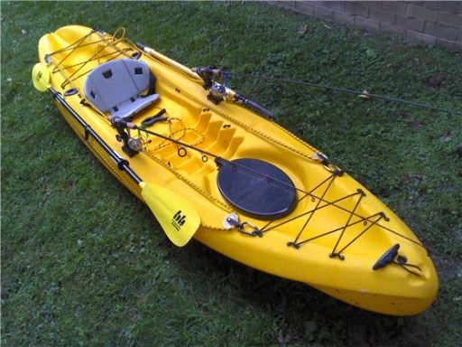 my fishing kayak