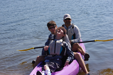 kayaking and special olympics 1