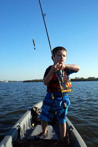 Kayak Fishing With Kids