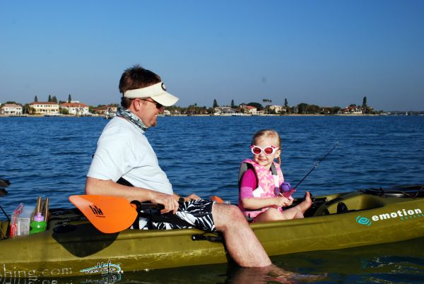Kayak Fishing With Kids 2