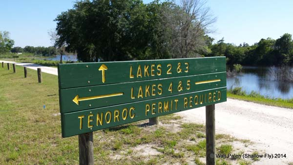 Florida freshwater pit fishing for Tenoroc fish management area