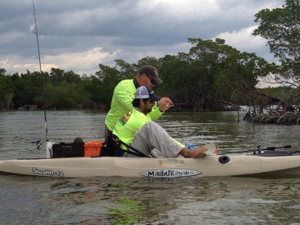 AFWC Redfish photo and release