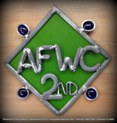 2nd Place trophy AFWC