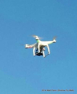 Drone taking pictures