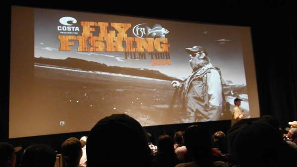 Fly Fishing film tour Inside