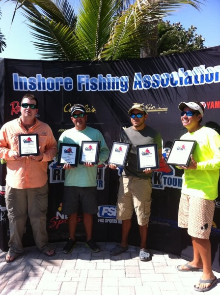 IFA Kayak Tournament Winners