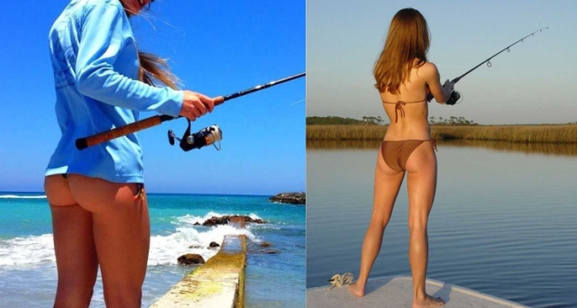 fishing from land vs fishing from a boat
