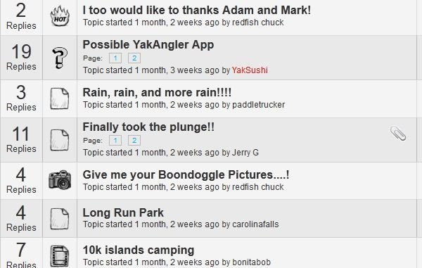 yakangler 3.0 forum icons