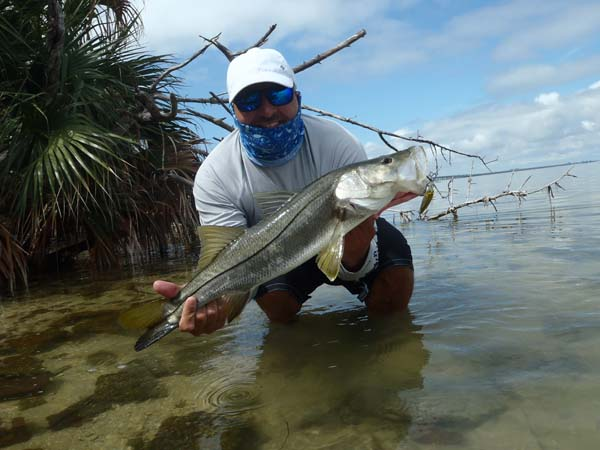 Joe Komyati large snook