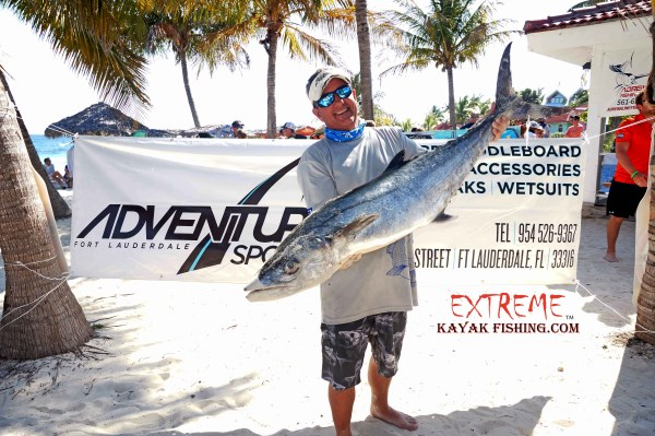Andrew Mixon 3rd place with his kingfish