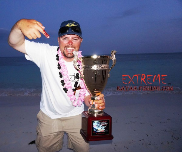 Brian Nelli wins 1st with his kingfish