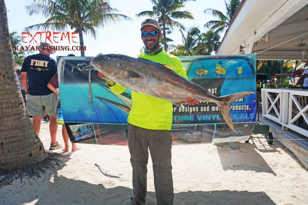 Don Miley 2nd place with his amberjack