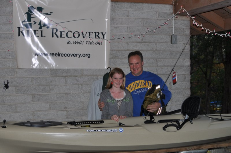 Brian and Carrie Slone with their new Tarpon 120