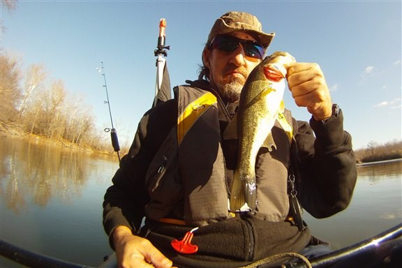 november kayak caught bass