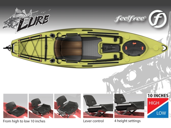 Feelfree lure seat config