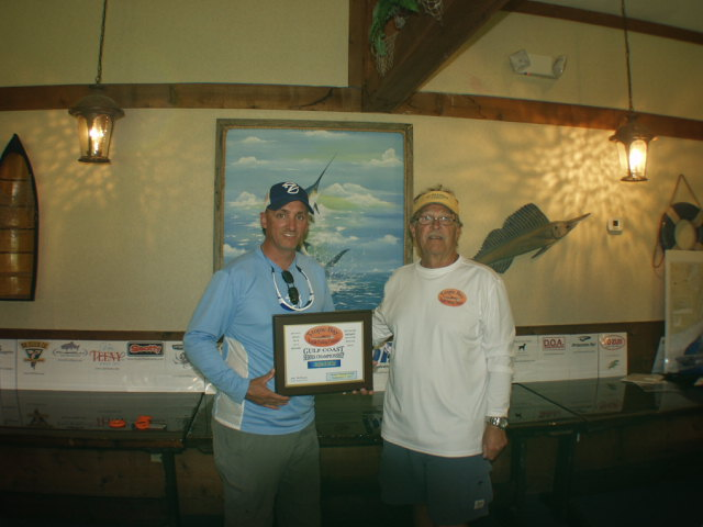 GULF SERIES  2013 ANGLER OF YEAR CHUCK STATHAM