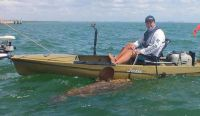 Largest grouper ever caught from a kayak