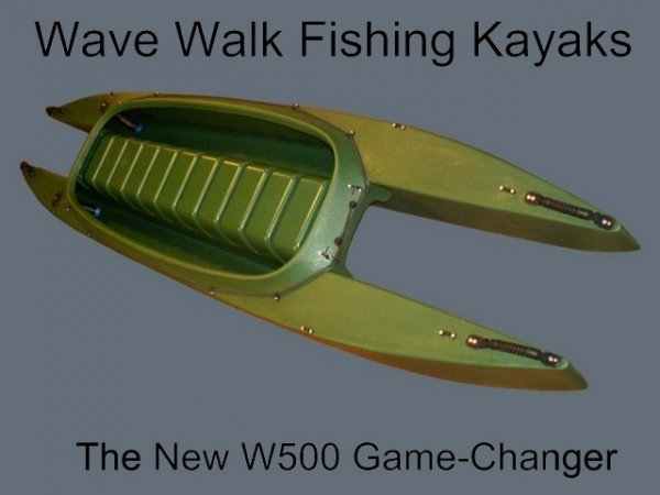 WaveWalk Fishing kayak