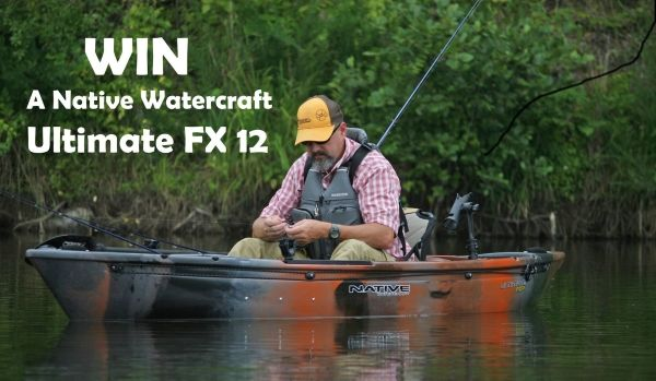 Ro - Sham - Bo! Win A Native Watercraft Ultimate FX 12 Fishing Kayak