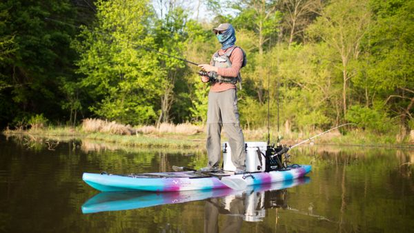 Tips for Angling from your Stand Up Paddle Board