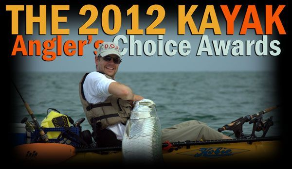 2012 Kayak Angler's Choice Awards Winners