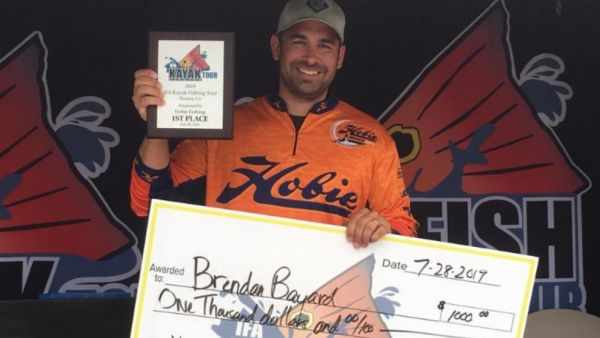Bayard Wins IFA Kayak Fishing Tour Event at Houma, Louisiana
