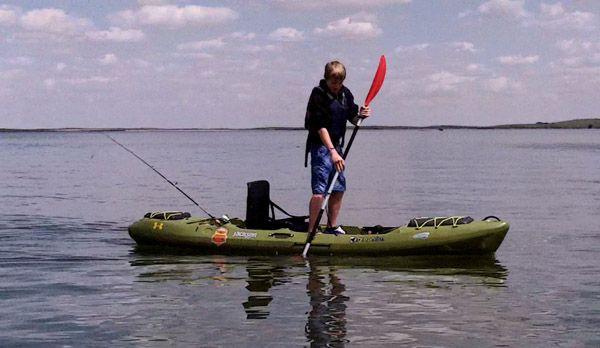 Tips on kayak fishing with kids for Cheap fishing kayaks