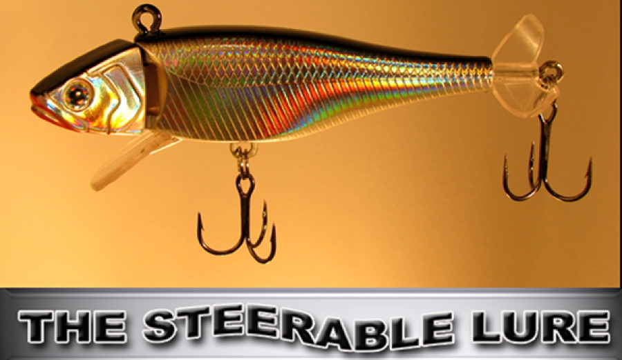 "2 THINKTANK TRIGGER FISH /""STEERABLE LURES/"""