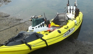 My Rigged Malibu X-Factor Fishing Kayak