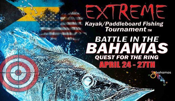 Extreme kayak fishing battle in the bahamas for Battle fish 2