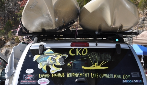 CKO Kayak Fishing Tournament Results